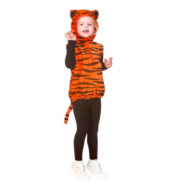 Childrens Child Tabard - Tiger Costume Unisex Fancy Dress